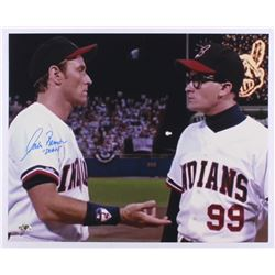 "Corbin Bernsen Signed ""Major League"" 16x20 Photo Inscribed ""Dorn"" (MAB)"