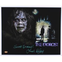"Linda Blair Signed ""The Exorcist"" 16x20 Photo Inscribed ""Sweet Dreams!"" (MAB)"