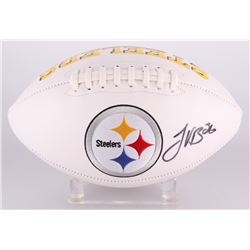 Le'Veon Bell Signed Steelers Logo Football (JSA COA)