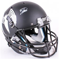 "Stan Lee Signed Custom Matte Black ""Venom"" Full-Size Helmet (Lee Hologram)"