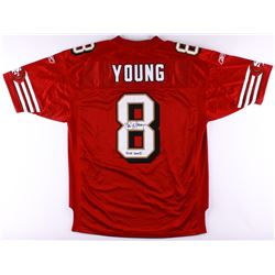 "Steve Young Signed Authentic On-Field 49ers Jersey Inscribed ""HOF 2005"" (JSA COA)"