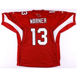 Kurt Warner Signed Authentic On-Field Cardinals Jersey (JSA COA)