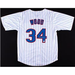 Kerry Wood Signed Cubs Jersey (JSA COA)