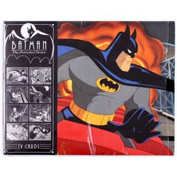 """Lot of (8) """"Batman: The Animated Series"""" 11x14 TV Cards"""