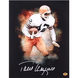 Paul Warfield Signed Browns 11x14 Photo (CAS)