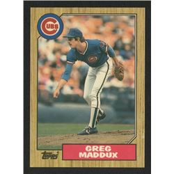 1987 Topps Traded #70T Greg Maddux RC