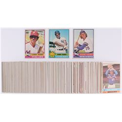 Lot of (250) 1976 Topps Baseball Cards with #145 Larry Bowa, #380 Bobby Bonds, #316 Robin Yount