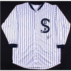 "John Cusack Signed ""Eight Men Out"" White Sox Throwback Jersey (PSA COA)"