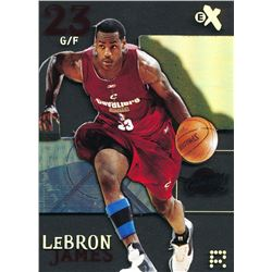 2003-04 E-X #102 LeBron James RC