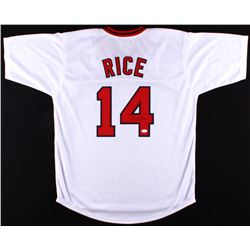 Jim Rice Signed Red Sox Jersey (JSA COA)