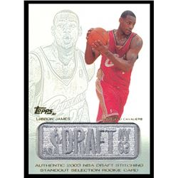 2003-04 Topps Jersey Edition #LJ LeBron James SS RC