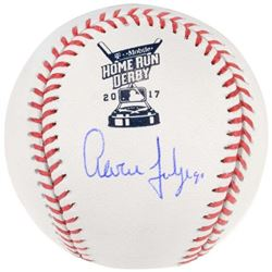 Aaron Judge Signed 2017 Home Run Derby Baseball (Fanatics)
