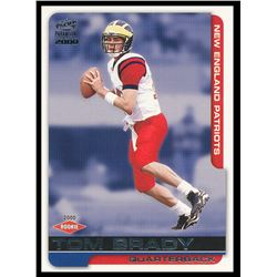 2000 Paramount #138 Tom Brady RC