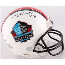 "Paul Hornung Signed Hall of Fame Mini-Helmet Inscribed ""HOF 86"" (PSA COA)"