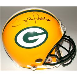 Clay Matthews Signed Packers Full-Size Authentic On-Field Helmet (Steiner COA)