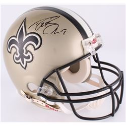 Drew Brees Signed Saints Authentic On-Field Full-Size Helmet (Radtke COA  Brees Hologram)