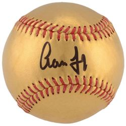 Aaron Judge Signed 24kt Gold Baseball (Fanatics)