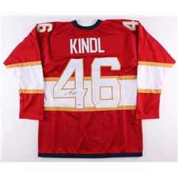 Jakub Kindl Signed Panthers Jersey (Beckett COA)