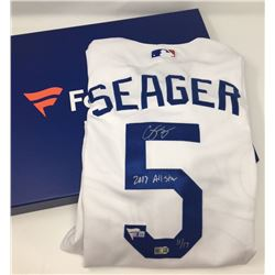 Corey Seager Signed Dodgers Limited Edition 2017 All-Star Game Authentic Majestic Jersey Inscribed ""