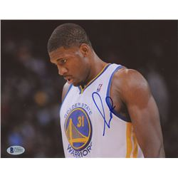 Festus Ezeli Signed Golden State Warriors 8x10 Photo (Beckett COA)