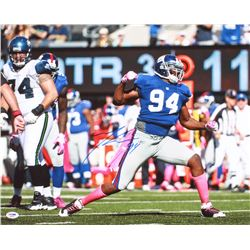 Mathias Kiwanuka Signed Giants 16x20 Photo (PSA COA)
