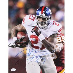 Brandon Jacobs Signed Giants 11x14 Photo (JSA COA)
