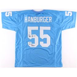 "Chris Hanburger Signed North Carolina Tar Heels Jersey Inscribed ""63 ACC Champs"" (Radtke COA)"