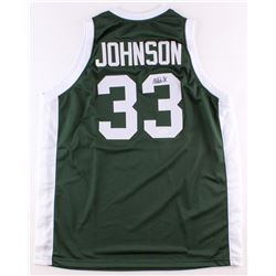 Magic Johnson Signed Michigan State Spartans Jersey (JSA COA)