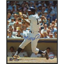 Mickey Rivers Signed Yankees 8x10 Photo (MAB)