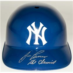 "Jose Canseco Signed Yankees Batting Helmet Inscribed ""The Chemist"" (MAB Hologram)"