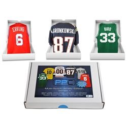 Press Pass Collectibles Mystery Box - Autographed Multi-Sport Jersey Edition Series 1