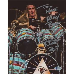 "Nicko Mcbrain Signed Iron Maiden 8x10 Photo Inscribed ""All My Best""  ""2017"" (Beckett COA)"