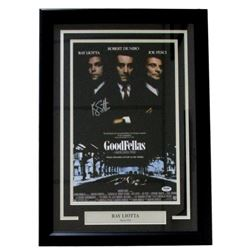 "Ray Liotta Signed ""Goodfellas"" 18x25 Custom Framed Photo Display (PSA COA)"