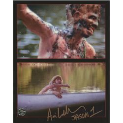 "Ari Lehman Signed ""Friday the 13th"" 8x10 Photo Inscribed ""Jason 1"" (Legends COA)"