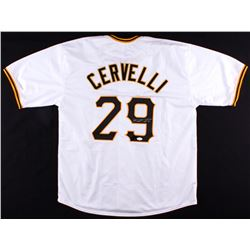 Francisco Cervelli Signed Pirates Jersey (JSA Hologram)