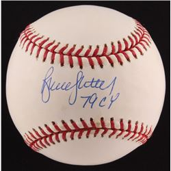 "Bruce Sutter Signed ONL Baseball Inscribed ""79 CY"" (SOP COA)"