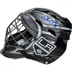 Jonathan Quick Signed Kings Full-Size Goalie Mask (Steiner)
