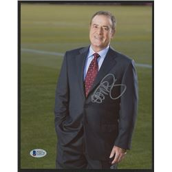 Al Michaels Signed 8x10 Photo (Beckett COA)