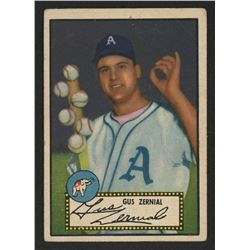 1952 Topps #31A Gus Zernial Black / Posed with six baseballs