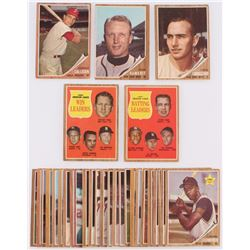Lot of (30) 1962 Topps Baseball Cards with #26 Chris Cannizzaro, #17 John Callison, #4 John DeMerit,