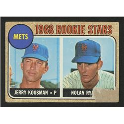 1968 Topps #177 Rookie Stars / Jerry Koosman RC / Nolan Ryan RC