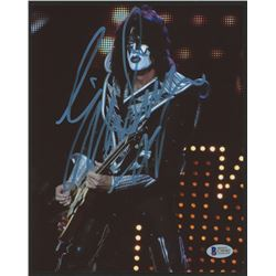 "Eric Singer Signed ""Kiss"" 8x10 Photo (Beckett COA)"