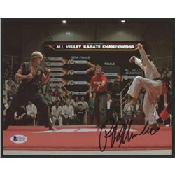 "Ralph Macchio Signed ""The Karate Kid"" 8x10 Photo (Beckett COA)"