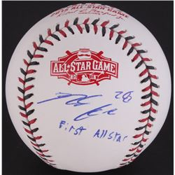 "Nolan Arenado Signed 2015 All-Star Game Ball Inscribed ""First All Star"" (JSA COA)"
