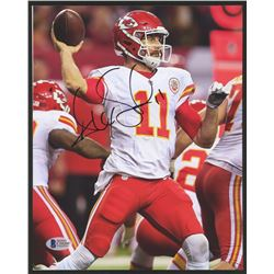 Alex Smith Signed Chiefs 8x10 Photo (Beckett COA)