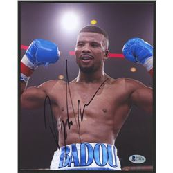 Badou Jack Signed UFC 8x10 Photo (Beckett COA)