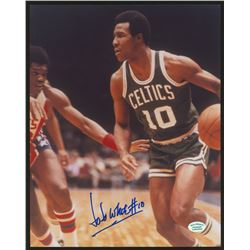 Jo Jo White Signed Celtics 8x10 Photo (Hollywood Collectibles COA)