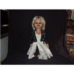 BRIDE SEED OF CHUCKY COMPLETE HERO TIFFANY PUPPET SCREEN USED