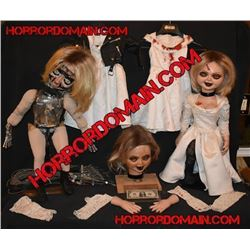 SEED OF CHUCKY SCREEN USED & MATCHED HERO TIFFANY ANIMATRONIC AND ARMATURED PUPPETS