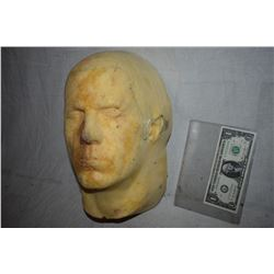 ZZ-CLEARANCE DISPLAY HALF HEAD FOR MASKS HATS WIGS SCULPTING ETC 6